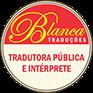 Logo Blanca tradutora juramentada